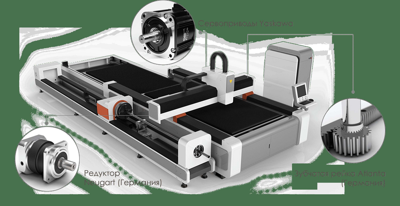 Оптоволоконный станок для лазерной резки LF3015GCR фото, цена
